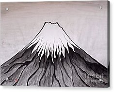 Mt.fuji By Taikan Nishimoto Acrylic Print