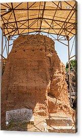 Mud-brick Wall Protection Acrylic Print by David Parker/science Photo Library
