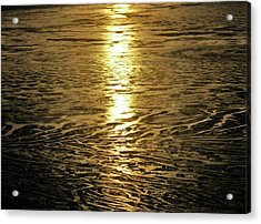 Acrylic Print featuring the photograph Muddy Reflection by Jeremy Rhoades