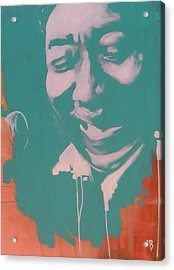 Muddy Waters Acrylic Print