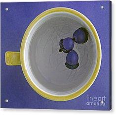 Acrylic Print featuring the photograph Mug And Finials 4 by Sebastian Mathews Szewczyk