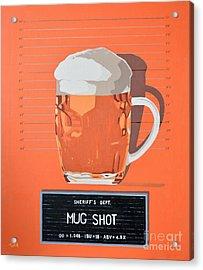 Mug Shot Acrylic Print