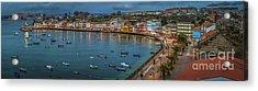Mugardos Panorama Galicia Spain Acrylic Print