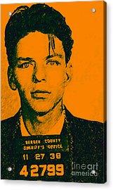 Mugshot Frank Sinatra V1 Acrylic Print