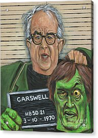 Mugshot Of Mr. Carswell Aka The Creeper Acrylic Print