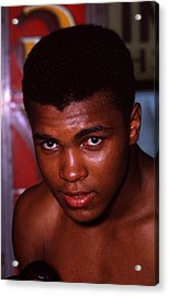 Muhammad Ali Close Up Acrylic Print by Retro Images Archive