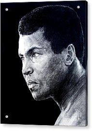 Muhammad Ali Formerly Known As Cassius Clay IIi Acrylic Print by Jim Fitzpatrick