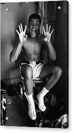 Muhammad Ali Showing Off  Acrylic Print by Retro Images Archive