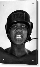 Muhammad Ali Teeth Gritted Acrylic Print by Retro Images Archive