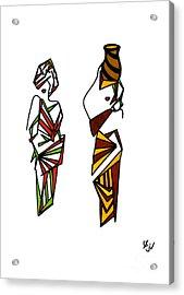 Mukazi Acrylic Print
