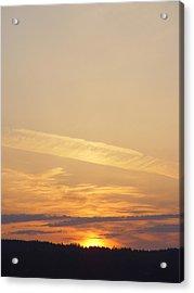 Mukeltio Sunset01 Acrylic Print