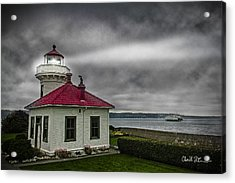 Mukilteo Lighthouse Acrylic Print by Charlie Duncan