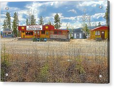 Acrylic Print featuring the photograph Mukluk Annie's Salmon Bake by Dyle   Warren