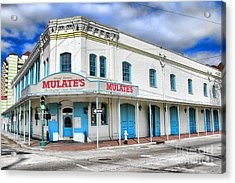 Mulates New Orleans Acrylic Print by Olivier Le Queinec