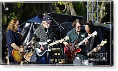 Mule And Widespread Panic - Wanee 2013 1 Acrylic Print by Angela Murray