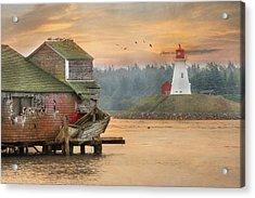 Mulholland Point Lighthouse Acrylic Print by Lori Deiter
