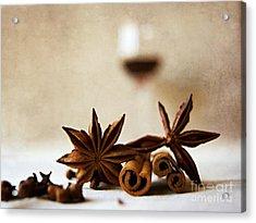 Mulled Wine IIi Acrylic Print