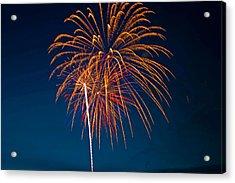 West Virginia Day Fireworks 3 Acrylic Print