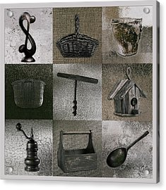 Multi Home Decor - 01v2f4c Acrylic Print by Variance Collections