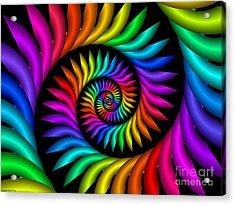 Multichrome  9 Acrylic Print