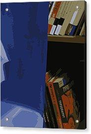 Multimedia Books Acrylic Print