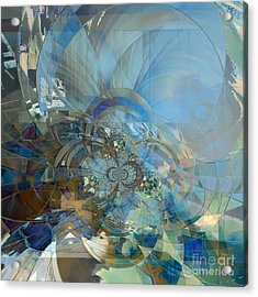 Multiple Dimensions Acrylic Print by Ursula Freer