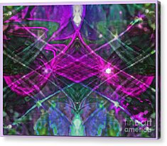 Multiplicity Universe Acrylic Print by Chris Anderson