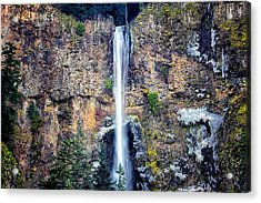 Multnomah Falls East Of Portland Or Acrylic Print