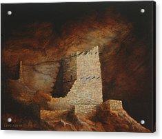 Mummy Cave  Acrylic Print