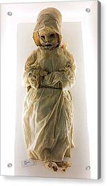 Mummy Museum Acrylic Print