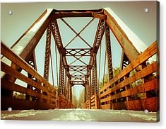Munger Trail Crossing Acrylic Print