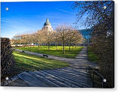 Munich Impression Acrylic Print by Juergen Klust