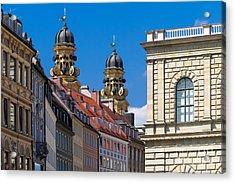 Munich Acrylic Print by Juergen Klust
