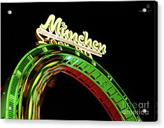 Munich Looping Acrylic Print by Hannes Cmarits