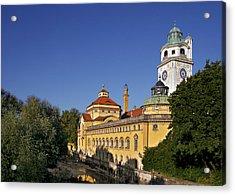 Munich - Mueller'sches Volksbad - Au-haidhausen Acrylic Print