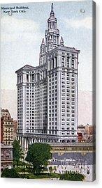 Municipal Building Acrylic Print by Granger