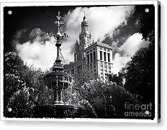 Municipal Building Acrylic Print by John Rizzuto