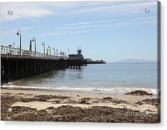 Municipal Wharf At The Santa Cruz Beach Boardwalk California 5d23766 Acrylic Print by Wingsdomain Art and Photography