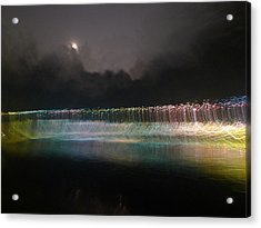 Munro River Reflections 4 Acrylic Print