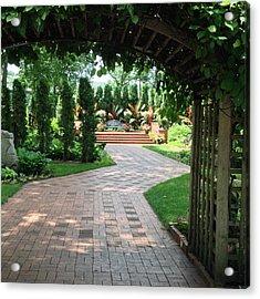 Munsinger Garden Acrylic Print