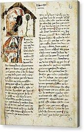 Muntaner, Ramón 1265-1336. Catalan Acrylic Print by Everett