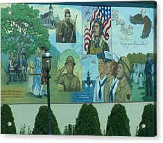Mural In Memory Of Acrylic Print