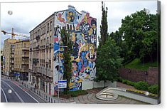Mural Acrylic Print by Kees Colijn