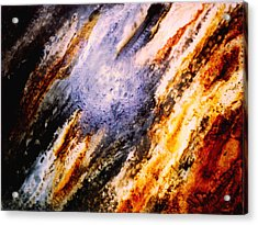 Mural Of Dab-shi Acrylic Print by Guillermo De Llera