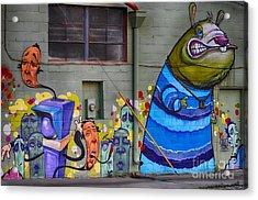 Mural - Wall Art Acrylic Print by Liane Wright