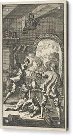 Murder By Cardinal Del Monte, 1560, Jan Luyken Acrylic Print