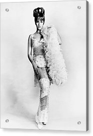 Murderers Row, Ann-margret, In A Gown Acrylic Print by Everett