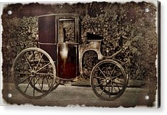 Murdoch Mysteries Carriage Acrylic Print