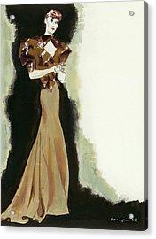 Muriel By Jean Patou Acrylic Print