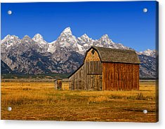 Acrylic Print featuring the photograph Murphy Barn by Greg Norrell